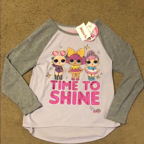 2f5f4b015 Lol Surprise Shirts & Tops | Long Sleeves Lol Doll Shirt | Poshmark